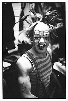 """Nicolai """"coco the clown""""Poliakoff (1900-1975) In 1935 with the Bertram Mills Circus"""