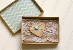 Chevron Will You Be My Bridesmaid Cards Rustic by RubyLaneMoments, $11.50