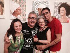 Eu, Ronaldo Fraga, Celinha do Cariri e Léo Santana.