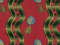Brunschwig & Fils GRILLY COTTON PRINT RUSSET BR-79426.180 - Brunschwig & Fils - Bethpage, NY, BR-79426.180,Brunschwig & Fils,Print,Red/Burgundy,Red,S,UFAC Class 1,Up The Bolt,USA,Stripes,Multipurpose,Yes,Brunschwig & Fils,N,GRILLY COTTON PRINT RUSSET