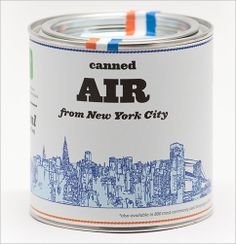 Looking for the ultimate souvenir? You can now buy canned air from #NewYork