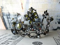 Sunlight Shadows crown by AllThingsPretty on Etsy, $235.00