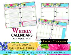 https://www.etsy.com/listing/240023994/lilly-inspired-weekly-calendar-planner