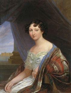 Русский живописец Будкин Филипп Осипович (1806-1850)-Портрет великой княгини Анны Павловны