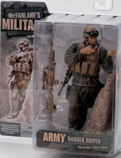 Action Figure Boxes - Army Ranger Sniper