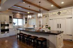Классический прованс в кухне