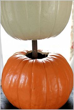How to Stack Pumpkins