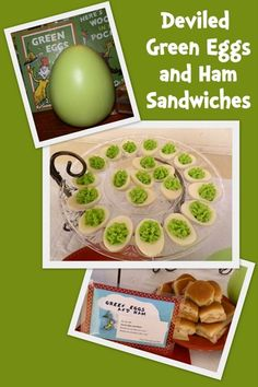 Dr. Seuss Party Food and Baby Shower Ideas