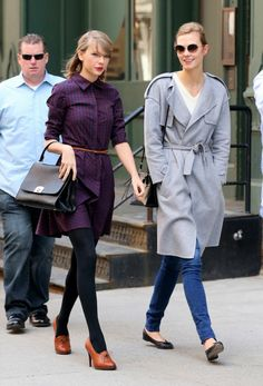 New BFF's Taylor Swift and Karlie Kloss hit the Big Apple for lunch date - 3am & Mirror Online
