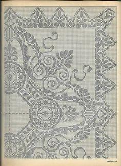 Stitch Patterns, Knitting Patterns, Crochet Patterns, Crochet Home, Knit Crochet, Cross Stitch Fruit, Fillet Crochet, Pattern Books, Doilies