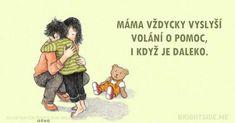 15 wonderfully tender postcards dedicated to our beloved moms Power Of Positivity, Positive Outlook, Mom Day, In My Feelings, Winnie The Pooh, Me Quotes, This Is Us, Childhood, Disney Characters