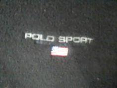 Vintage RALPH LAUREN Polo Sport  Mens XXL Black Fleece Sweatshirt USA #RALPHLAUREN #SweatshirtCrew