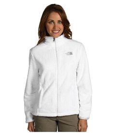 White Fleece Jackets For Womens