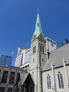 Christ Church Cathedral, Indianapolis, Indiana.
