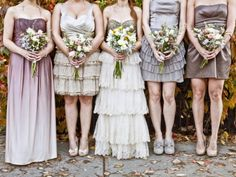 Lovely color combo | weddingbells
