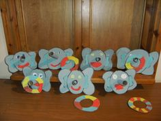 Gooi een ring om zijn slurf Elephant Theme, Circus Theme, Safari, Homeschool, Crafts For Kids, Carnival, Animals, Hipster Stuff, Africa