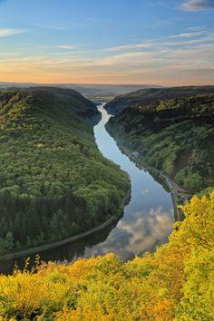 Mettlach, Saar River ~ Germany