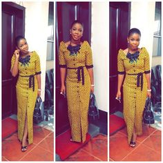 is an African fashion and lifestyle website that showcase trendy styles and designs, beauty, health, hairstyles, asoebi and latest ankara styles. African Inspired Fashion, African Print Fashion, Africa Fashion, African Print Dresses, African Fashion Dresses, African Dress, Ankara Fashion, Nigerian Fashion, African Attire