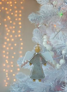 Fused Glass Angel - brighter colours needed