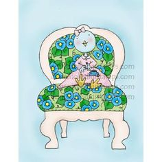 Every birdie needs a pretty place to sit and have a cup of tea, don't you think?