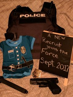Police pregnancy announcement