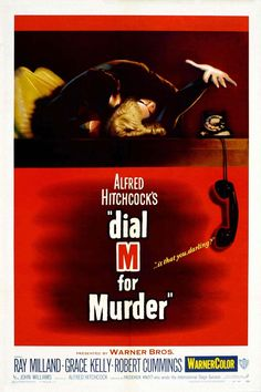 "55: ""Dial M for Murder"" Director: Alfred Hitchcock 1954 #DLMChallenge #365days #365movies   Intelligent writing like this is a lost art."