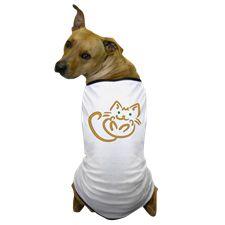 Playful Kitty Dog T-Shirt