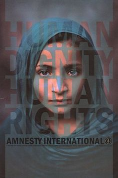 Amnesty posters: Steve McCurry Poster