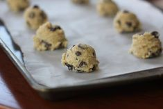 These 'perfect' chocolate chip cookies are completely buttery, chewy, thick and chocked full of rich, semi-sweet chocolate chips. Perfect Chocolate Chip Cookies, Cooking Chocolate, Chocolate Cookie Recipes, Semi Sweet Chocolate Chips, Easy Cookie Recipes, Chocolate Chip Cookie Dough, Chocolate Flavors, Brownie Recipes, Baking Recipes