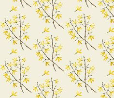 Woodland Natural by gollybard. I'm completely in love with this whole collection. Spoonflower, so variable fabrics & pricing.