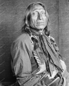 Chief Iron Tail A Sioux Indian Vintage 8x10 Reprint Of Old Photo