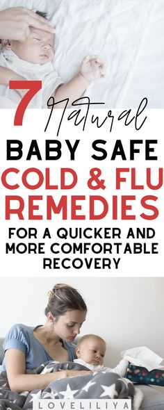 Natural Remedies for Surviving Your Baby's Flu/Cold – LoveLiliya - Health Parenting Toddlers, Parenting Advice, Single Parenting, Baby Flu, Babys First Cold, Baby Hacks, Baby Tips, Mom Hacks, Kids Health