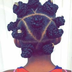 Hands down one of the dopest Bantu knot styles I have seen! Repost @kennisharenee  #luvmynaps #blacknaps #bantuknots #kinksandcurls #kinkychicks #kinksandcoils #coilygirl #type4hair #type4naturals #braids