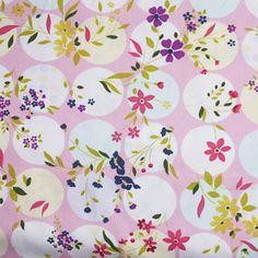 Algeciras pink, cotton dress fabric, summer dressmaking fabric, fabric, cotton  £12.90