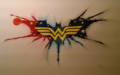 wonder woman tattoo | Wonder Woman Batman Tattoo by Mistaj27