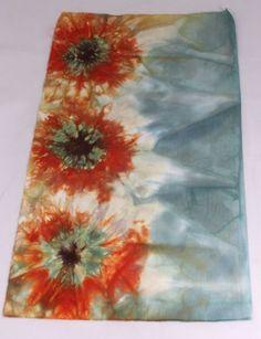 A tie dye fabric tutorial