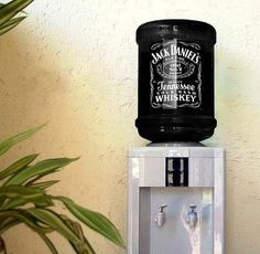 Jack Daniels Whiskey - Water Machine Fountain & ALSO A COCA COLA for mixer at wedding reception