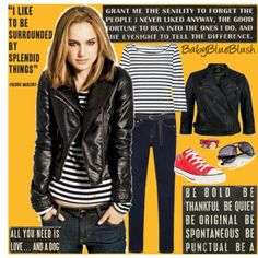 My style icon: Natalie Portman | comfortable and edgy