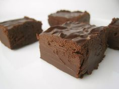 No Bake Chocolate Fudge Recipe        1 can sweetened condensed milk      1 teaspoon vanilla      1 teaspoon butter      4 cups chocolate chips    Microwave the chocolate chips until they are melted. Mix in the vanilla, butter and sweetened condensed milk. Pour this no bake fudge mix into a slightly greased 9x11 pan and allow it to cool.