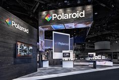 Polaroid CES exhibit on Behance