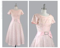 vintage full dress 1950's. by stickylipgloss
