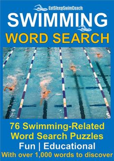 Swimming Word Search contains 76 educational and fun swimming-related word search puzzles with over words to discover. Swimming Drills, Competitive Swimming, Swimming Gear, Baby Swimming Classes, Swimming Times, Teach Kids To Swim, Learn To Swim, Swimming Equipment, Swimming Benefits