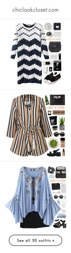 """""""chiclookcloset.com"""" by novalikarida ❤ liked on Polyvore featuring chiclookcloset, Kate Spade, The Webster, Three Hands, ROOM COPENHAGEN, MAC Cosmetics, Voluspa, Givenchy, H&M and Alexander McQueen"""