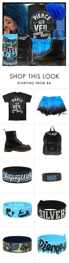"""""""I only said it 'cause I know what it's like to feel burned out It gets you down, We've all been there sometimes But tonight I'll make you feel beautiful once again"""" by nekoprincess ❤ liked on Polyvore featuring Rockstar Sushi, Dr. Martens, American Apparel and Leith"""