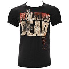 The Walking Dead Splatter T Shirt (Schwarz) - Small
