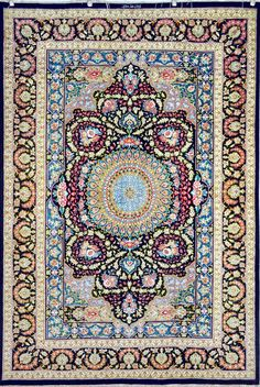 Retail Price: $16,900.00 You Save: 70% ($11,800.00) Item#: 1225 Category: Small(3x5-5x8) Persian Rugs Design: Center Medallion Size: 188 x 130 (cm)      6' 2 x 4' 3 (ft) Origin: Iran Foundation: Silk Material: Silk Weave: 100% Hand Woven Age: Brand New KPSI: 800 You Pay : $5,100