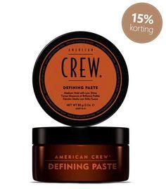 American Crew Defining Paste #American #Crew #haarproducten #haarverzorging #kappersbenodigdheden #barbershop #heren #man