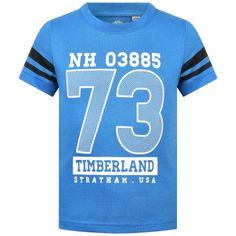 Timberland T-Paita pojalle; ihanan kirkkaan sininen paita!!! Mens Tops, Shirts, Dress Shirts, Shirt, Top, Tees, T Shirts