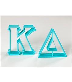 Sassy Sorority   Kappa Delta Greek Letter Cookie Cutters