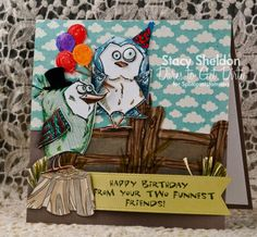 DTGD15Kittie747 Funnest Friends by JBgreendawn - Cards and Paper Crafts at Splitcoaststampers